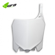 NUMBER PLATE CRF 250R 14-17 + CRF 450R 13/16 BRANCO  FRONTAL UFO - HO04656#041