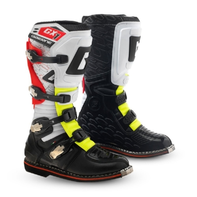 BOTA GAERNE CROSS GX1 GOODYEAR - WHITE/YELLOW/RED