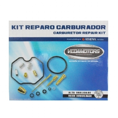 REPARO CARBURADOR TITAN 150 2004/09 N-118 - KIT VEDAMOTORS - P400210180005
