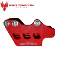 GUIA DE CORRENTE CRF 250/450 07-20 - TRASEIRO - RED DRAGON  - ASCG-01