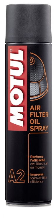 AIR FILTER SPRAY MOTUL 400ML- OLEO PARA FILTRO DE AR EM SPRAY A2 - MT372