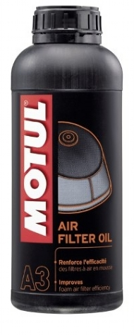 OLEO PARA FILTRO DE AR MOTUL A3 - 1 LITRO (AIR FILTER OIL) - MT374