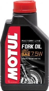 MOTUL FORK 7.5W FACTORY LINE LIGHT 100% SYNTHETIC 1LT - MT072