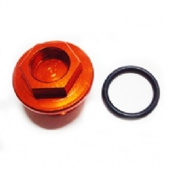 PARAFUSO TAMPA DE OLEO KTM SX65 07- SX/EXC 250-450 SXF/EXCF/250/350/450 06- RED DRAGON - OFP-05