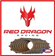 DISCO EMBR KX125 94-02 (7 DISCOS) RED DRAGON - 883-D4499-7