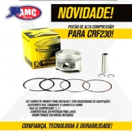 PISTÃO CRF 230F 07/19 - ALTA COMP. 1,75 MM 11.7:1 (67.25 MM) KIT PROX  - 01.1365.175