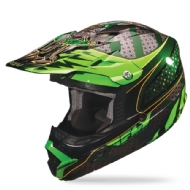 PALA DO CAPACETE FLY TROPHY LITE VERDE/PRETO