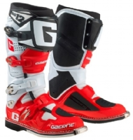 BOTA GAERNE CROSS SG 12 - RED/BLACK/WHITE - SZ 44 (EUR) 9,5 (EUA) 42(BRAZIL - 2174-053-44