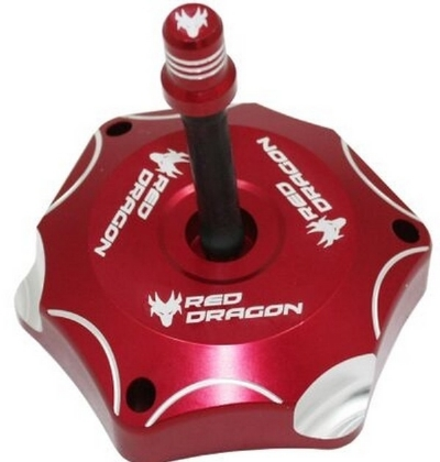TAMPA TANQUE 60MM CRF 250/450 13-16 RED DRAGON VERMELHO - asgt-34