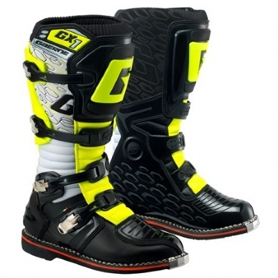 BOTA GAERNE CROSS GX1 GOODYEAR - WHITE/YELLOW/BLACK  SZ 44 (EUR) 9,5 (EUA) 42 (BR) 2184-019-44