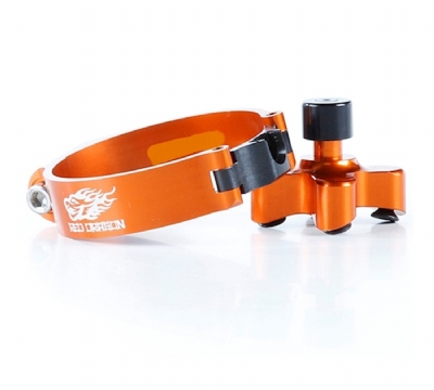 DISPOSITIVO DE LARGADA  KTM SX 50/65 - 45.4MM - LARANJA RED DRAGON - ASLC-08