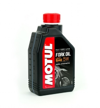 MOTUL FORK 5W FACTORY LINE LIGHT 100% SYNTHETIC 1LT - MT073