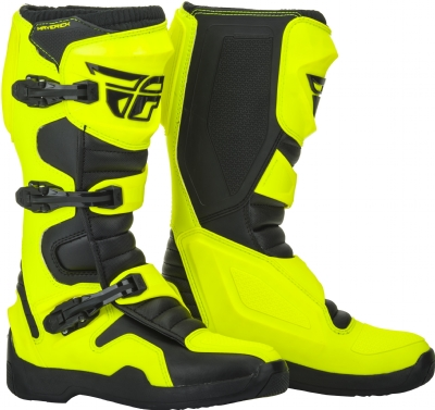 BOTA FLY NEW MAVERIK 19 AMARELO FLUOR - 9 USA