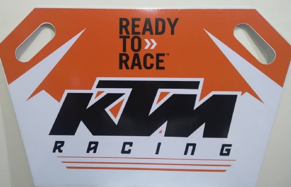 PLACA DE TREINO PG RACING KTM - 3MM