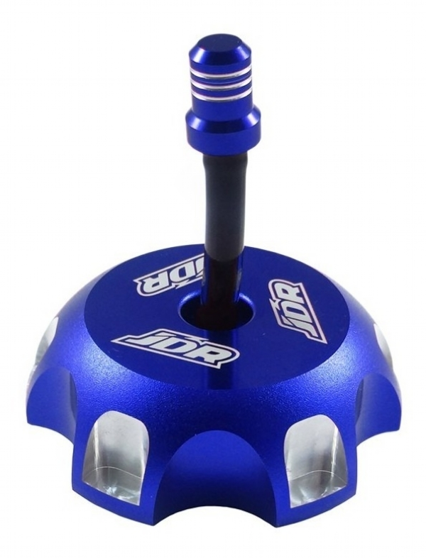 TAMPA TANQUE 57mm KXF 250/450 06-13 + YZF/WRF 250/450 03-13 - AZUL - JDR - JTC29003