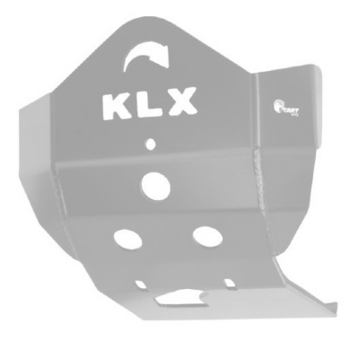 PROTETOR DO MOTOR KLX 450 - ALUMÍNIO POLIDO PREMIUM - START RACING - P147