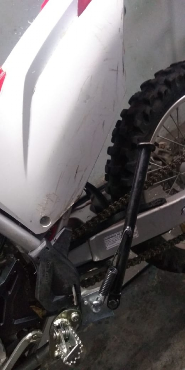 SUPORTE ESPECIAL DO DESCANSO CRF 250F 19-20 + CRF 230F - MASTER - M516 IMG-1087626
