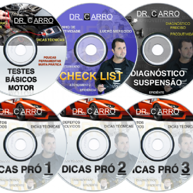 Kit Pró com 6 DVDs - Valor promocional