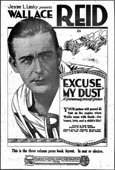 Excuse my Dust, 1920 (Desculpe a Poeira)