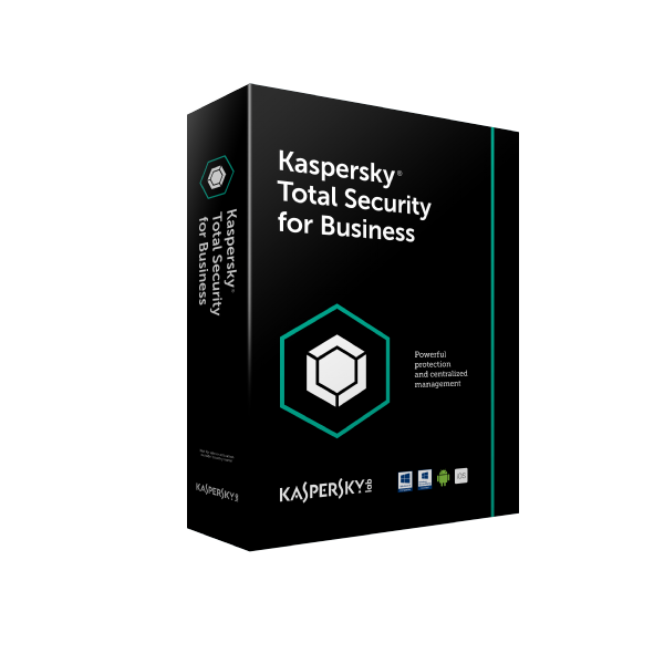 Kaspersky Total Security for Business - 25 dispositivos, 1 ano