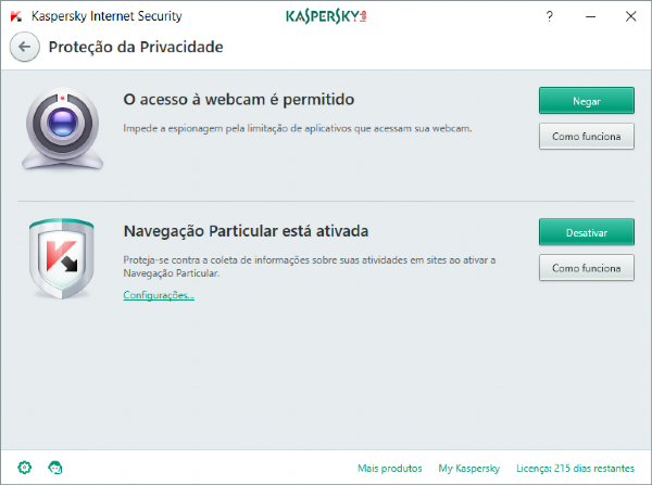 Kaspersky Internet Security - 10 Dispositivos, 1 ano