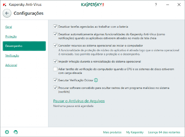 Kaspersky Anti-Virus - 5 dispositivos, 1 ano