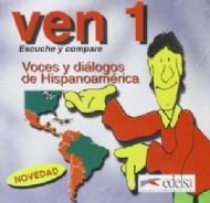 CD-AUDIO VEN 1 – VOCES Y DIÁLOGOS DE HISPANOAMÉRICA