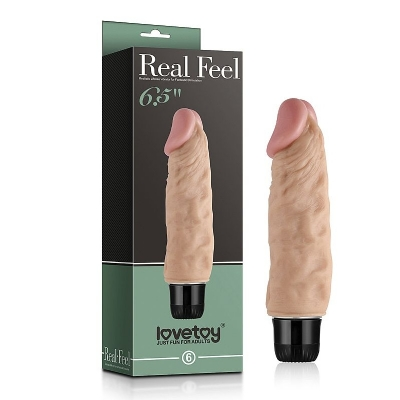 Pênis Real Feel 17x3,7 cm- Lovetoy