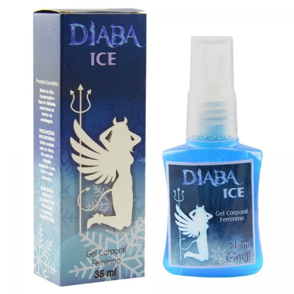 DIABA ICE EXCITANTE FEMININO SPRAY 35ml - GARJI