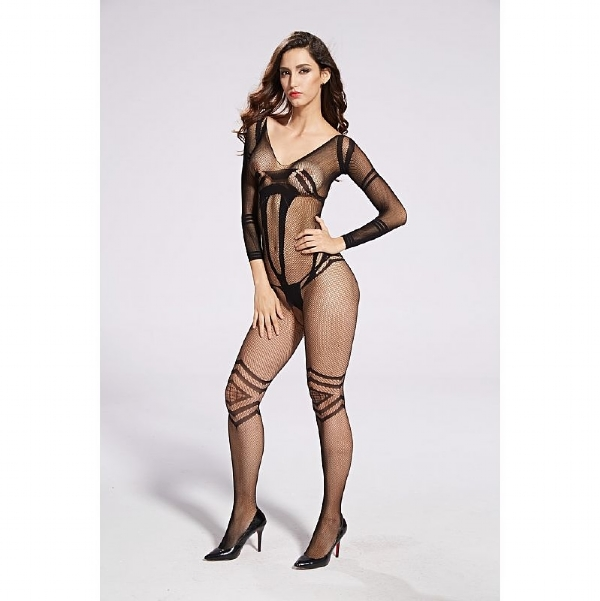 Bodystocking Macacão Rendado - 3641 IMG-835277
