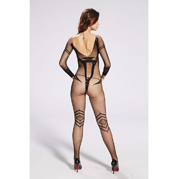 Bodystocking Macacão Rendado - 3641 IMG-835278