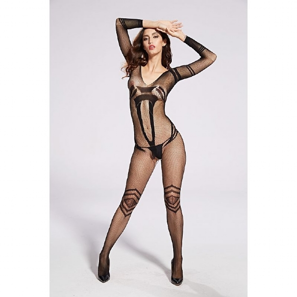 Bodystocking Macacão Rendado - 3641 IMG-835279