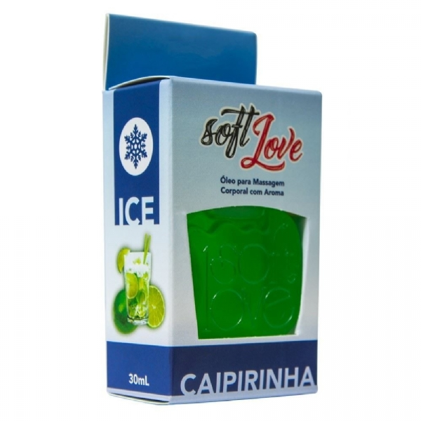 GEL ICE COMESTÍVEL 30ML - SOFT LOVE IMG-1056415