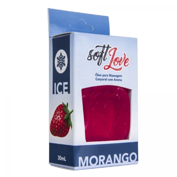 GEL ICE COMESTÍVEL 30ML - SOFT LOVE IMG-1056417