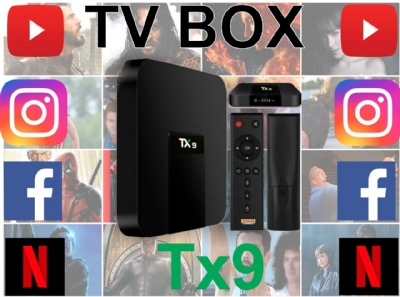 TV BOX SMART TX3 MINI 2GB RAM 16GB MEMÓRIA