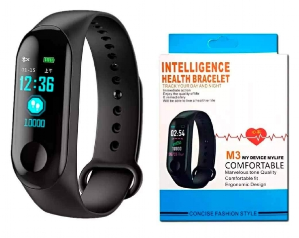 Smart Band Relogio Fitness Bracelet M3 Health
