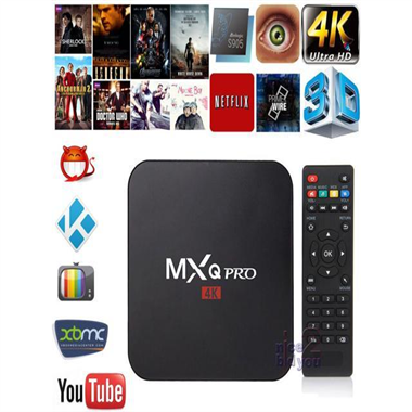 TV BOX SMART MXQ ULTRA 2GB RAM 16GB MEMORIA