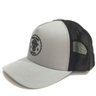 Boné Yourface Trucker Cinza Skull